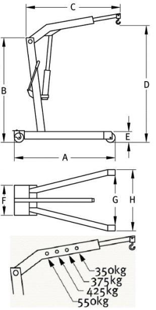 schemat wyciągarki