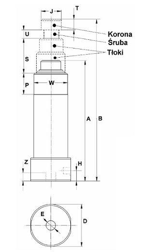 Lewarki jednostronne wymiar2 www.elwico - Lewarki samochodowe