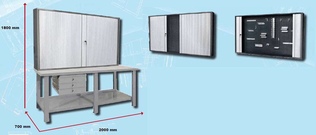 stol kratownica - Stoły warsztatowe