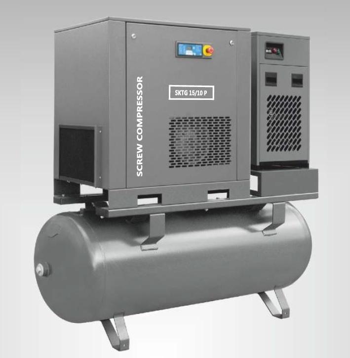Kompresor 15 kW - Kompresor śrubowe 15 kW