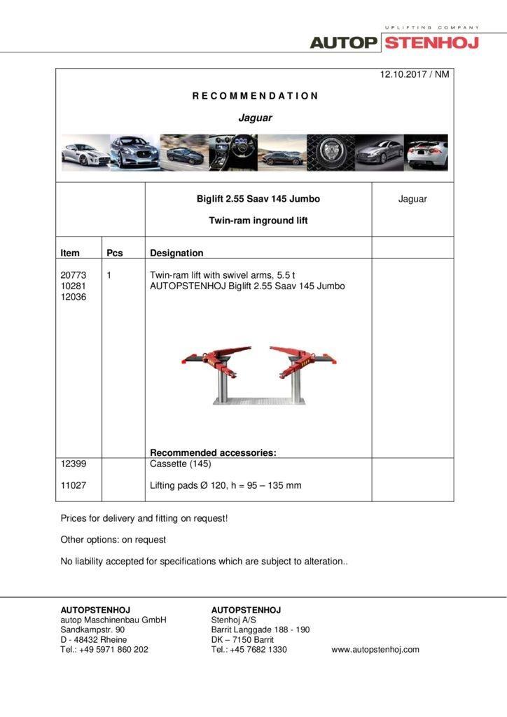 Biglift 250 Saav 145 EN  pdf - Jaguar