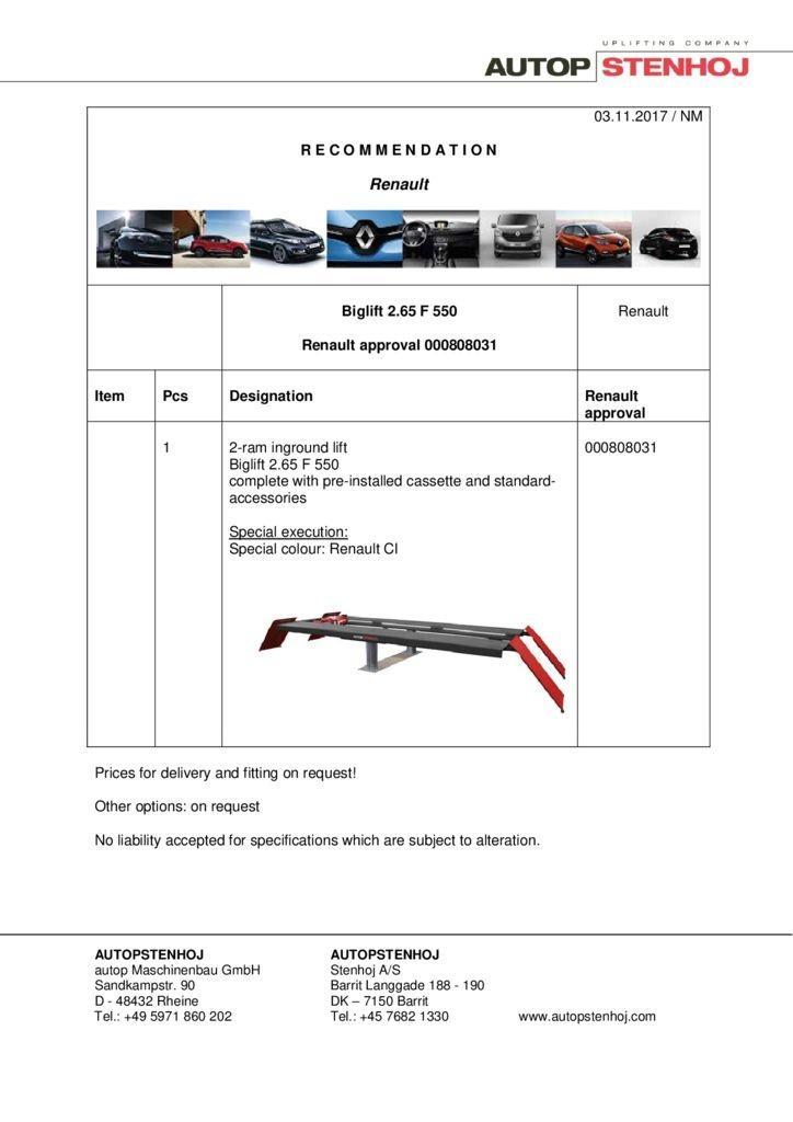 Biglift 265 F550 000808031 EN  1 pdf - Renault