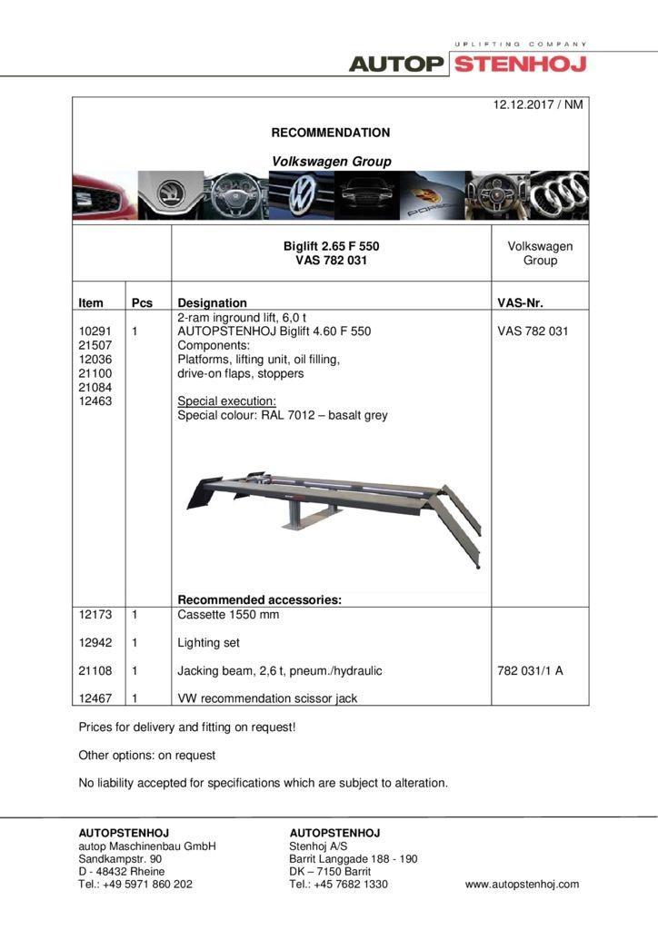 Biglift 265 F 550 VAS 782031 EN  pdf - Volkswagen Group
