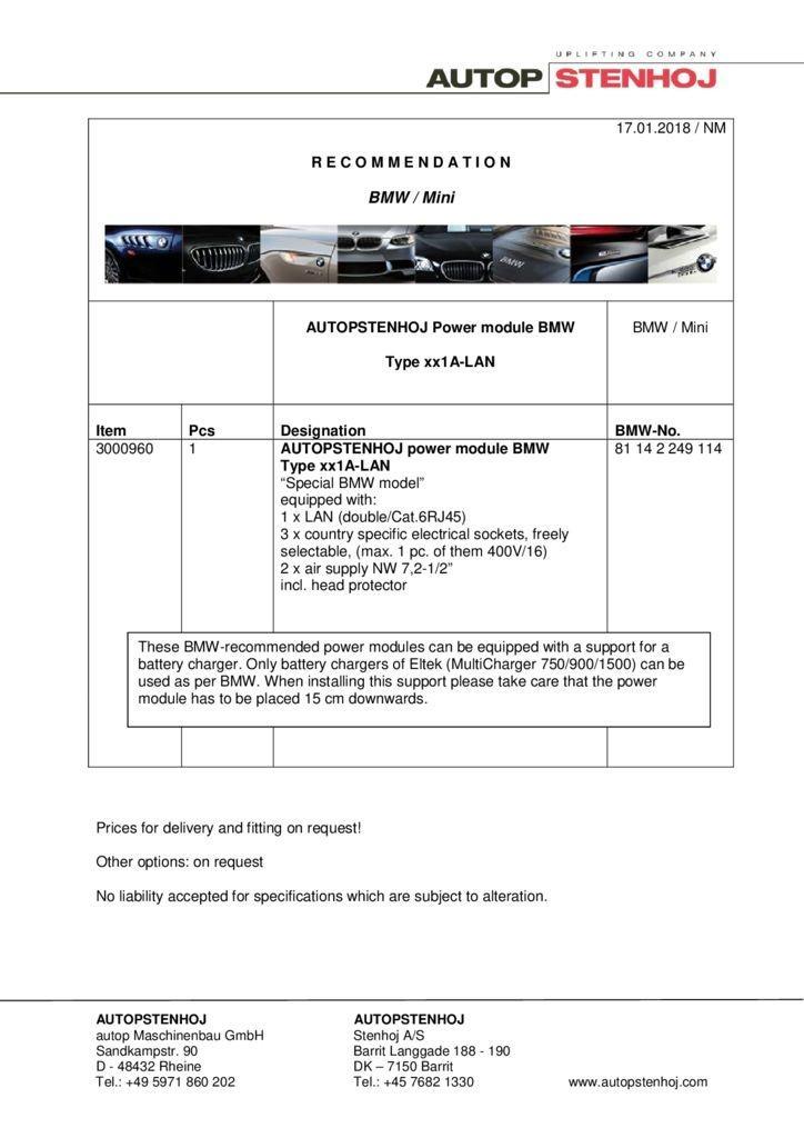 Energieampel Typ xx1A LAN EN  1 pdf - BMW / Mini