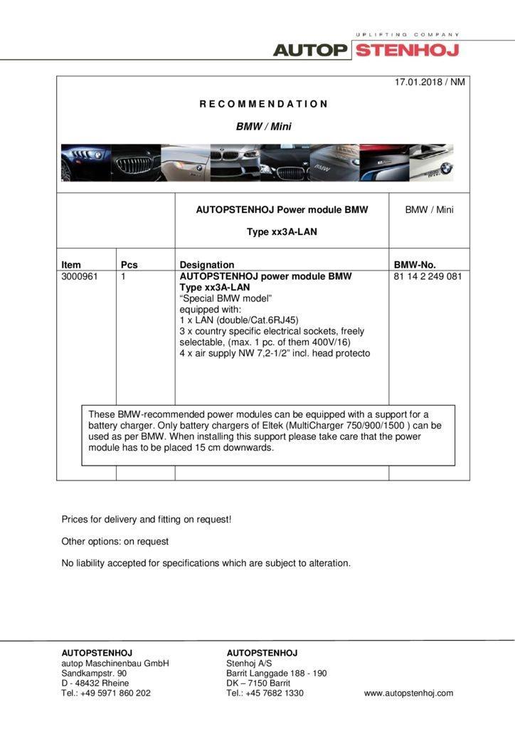 Energieampel Typ xx3A LAN EN  1 pdf - BMW / Mini