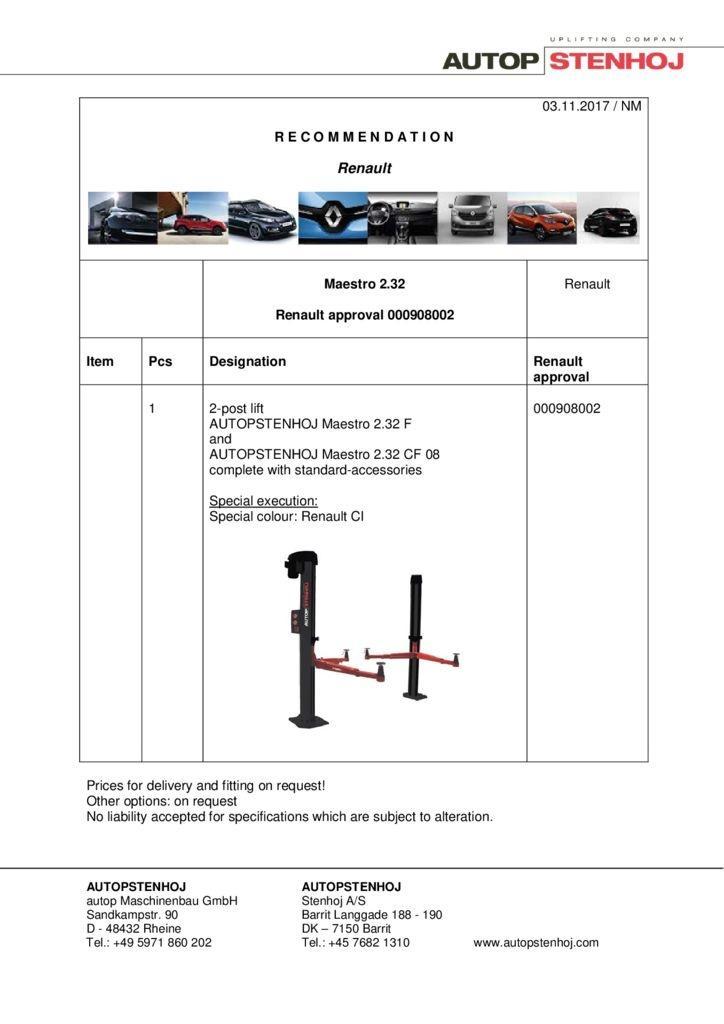 Maestro 232 00908002 EN  pdf - Renault