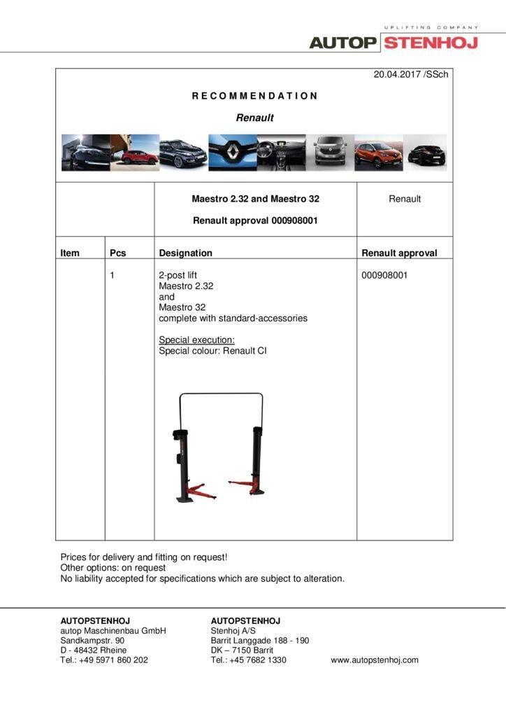 Maestro 232 and 32 000908001 EN  2 pdf - Renault