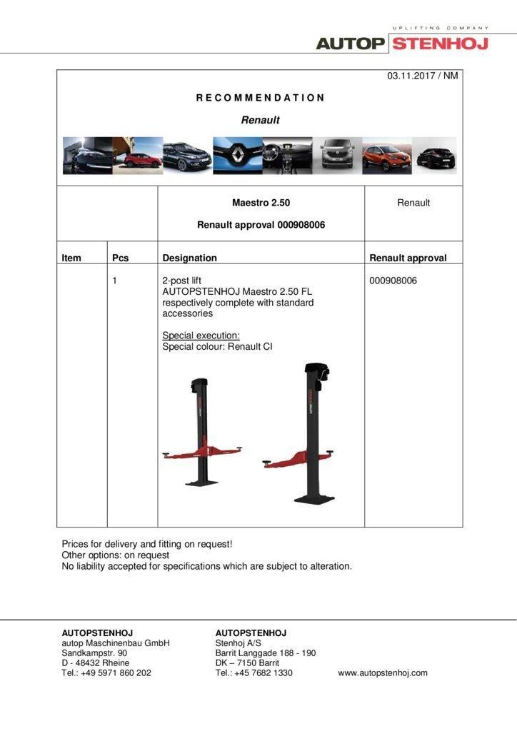 Maestro 250 000908006 EN  pdf - Renault
