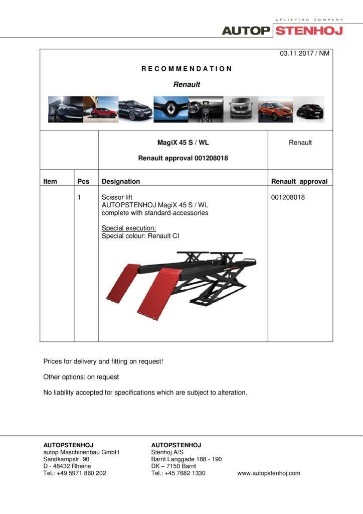 MagiX 45 S WL 001208018 EN  pdf - Renault