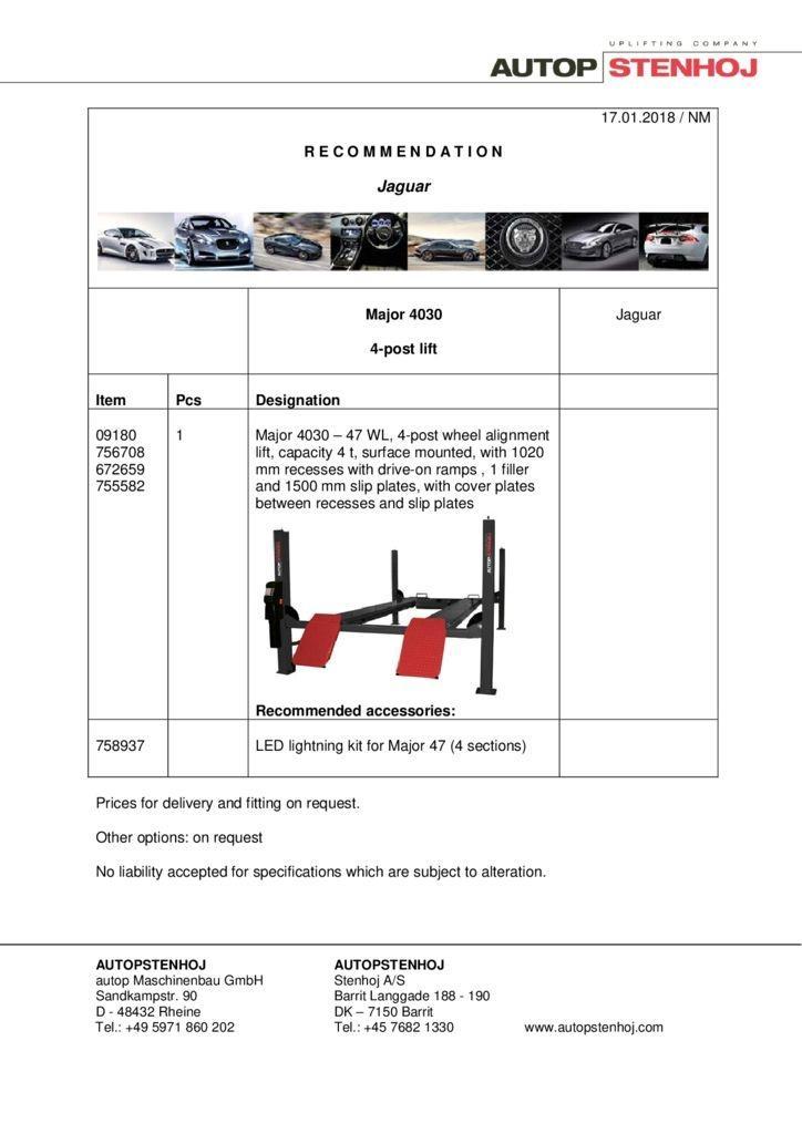 Major 4030 EN  1 pdf - Jaguar