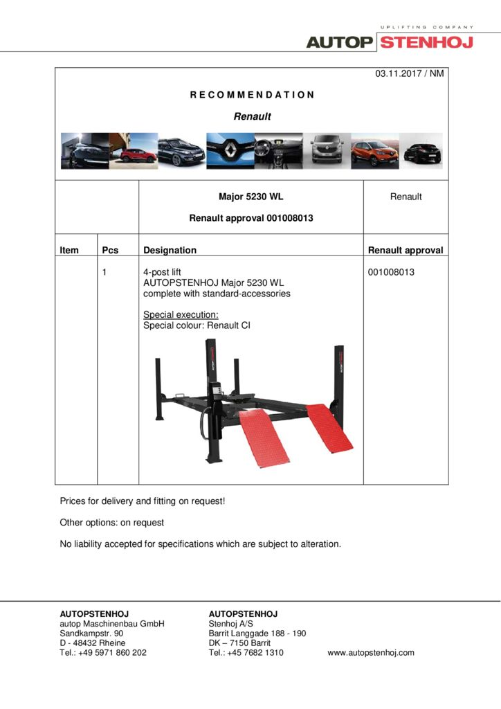 Major 5230 WL 001008013 EN  pdf - Renault