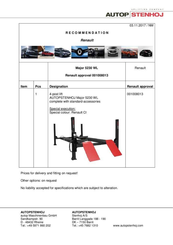 Major 5230 WL 001008013 EN  pdf - Renault