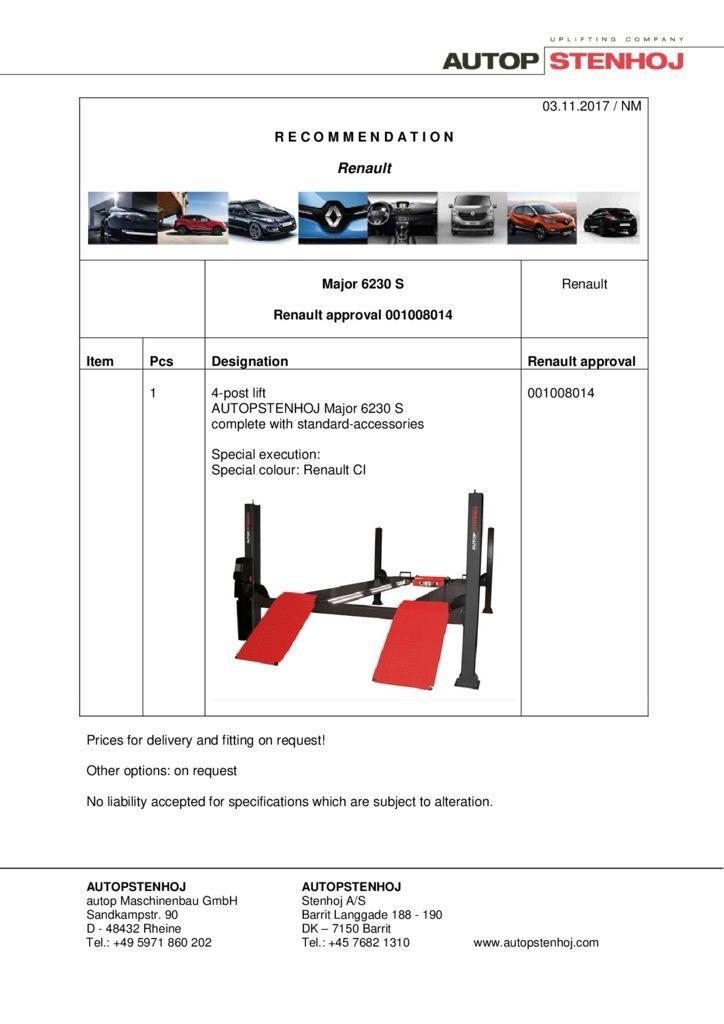 Major 6230 S 001008014 EN  pdf - Renault