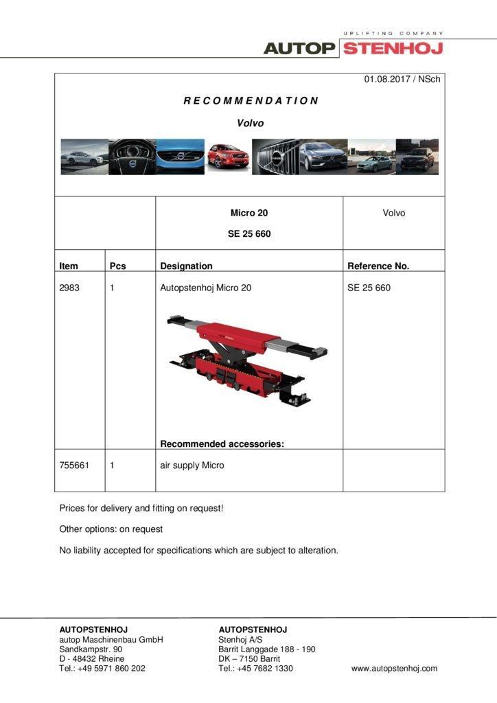 Micro 20 SE 25660 EN Volvo 1 pdf - Volvo