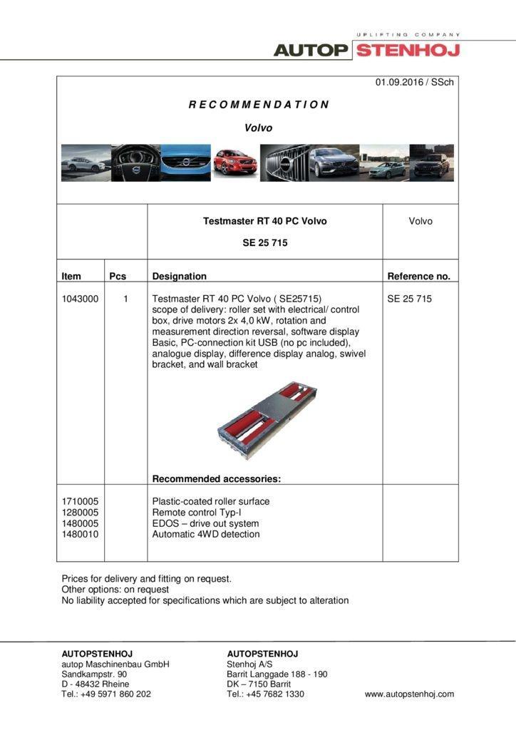 RT 40 PC  SE25715 EN Volvo 1 pdf - Volvo