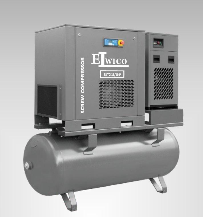 Kompresor 11 kW - Kompresor śrubowy 11 kW