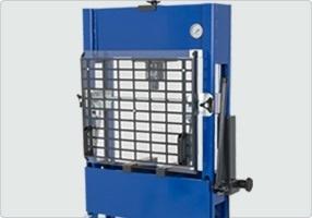 Osłona prasy 1 - Prasa elektrohydrauliczna 40 ton