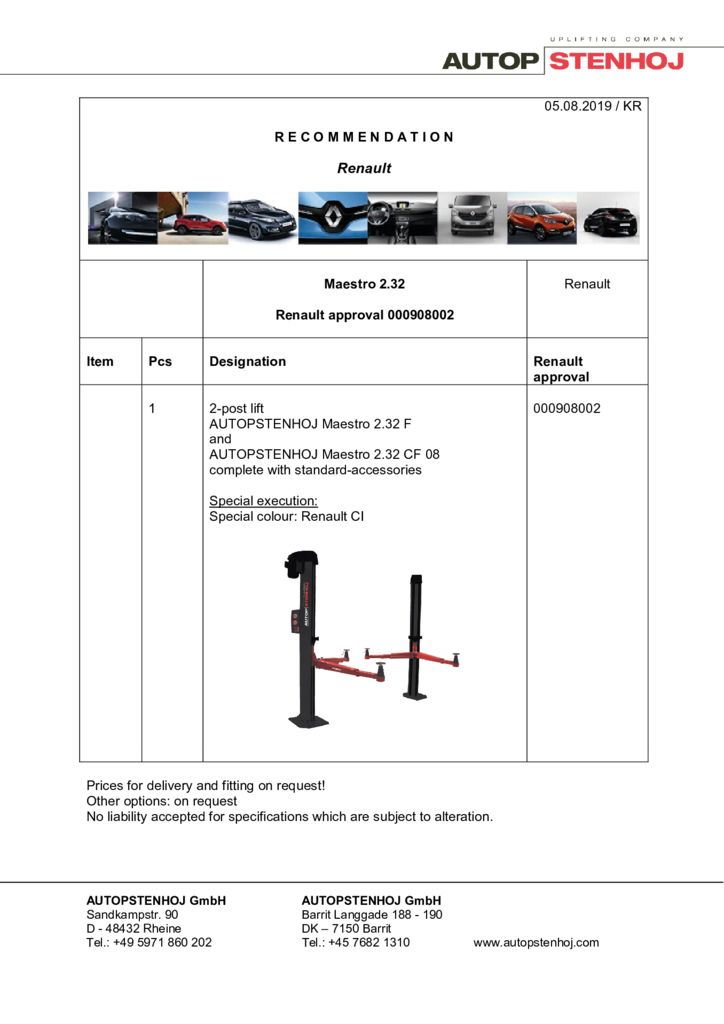 Update Maestro 232 00908002 EN  3 pdf - Renault