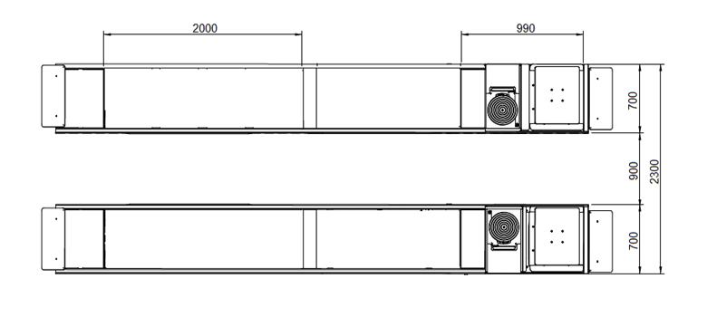 S500A S600A 2 - Podnośnik nożycowy diagnostyczny S500A