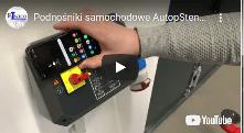 Podnośniki samochodowe AutopStenhoj z interfejsem NFC dla Android zwiększone bezpieczeństwo serwisu - Podnośnik samochodowy PROFILIFT 2.40 Fn 460