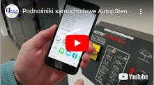 Podnośniki samochodowe AutopStenhoj z interfejsem NFC dla iPhone - Podnośnik samochodowy BIGLIFT 2.65 Saaa 265